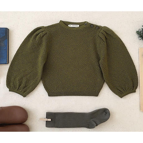 【SOOR PLOOM】Agnes Sweater, Moss