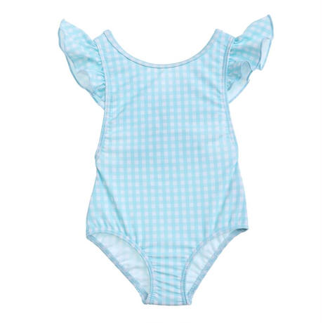 【willow swim】 GRACIE - minty gingham