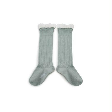 【Collegien】tule  high  socks
