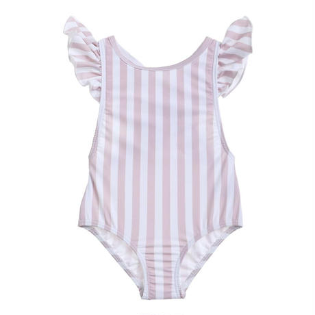 【willowswim】GRACIE- stripe pink beige