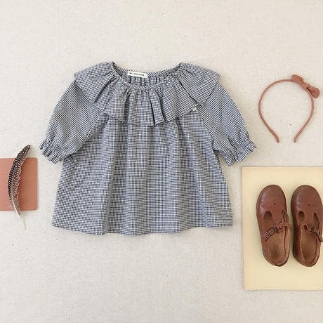 【SOOR PLOOM】Lucille Tunic, Gingham