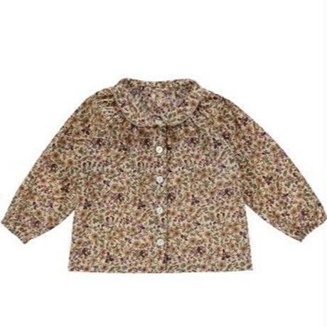 残り 1【little cotton clothes】Annie blouse autumnal floral