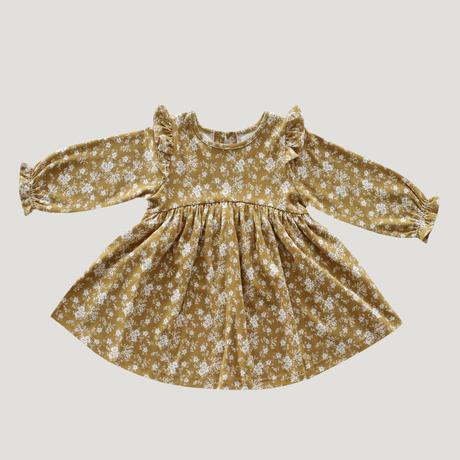 【Jamie kay】Dress - golden Floral
