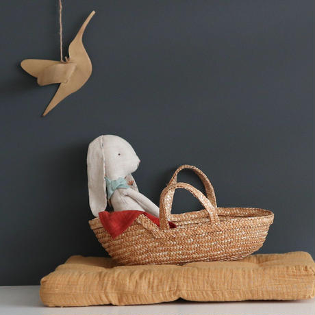 【coconeh】Natural Teddy Carrycot Izta