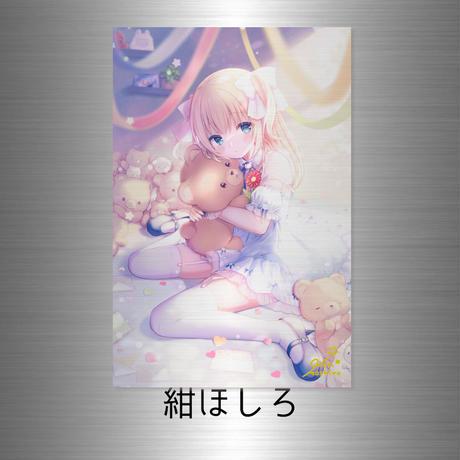 "2021SS ""PLATINUM"" A4(プラチナアクリルジークレー)(サイン箔入り)【10個限定】"