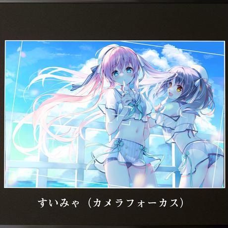 "2021SC ""INTENSE"" A4(ジークレー)【額装付き】"
