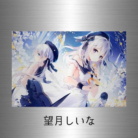 "2021SS ""PLATINUM"" A5(プラチナアクリルジークレー)(サイン箔入り)【10個限定】"