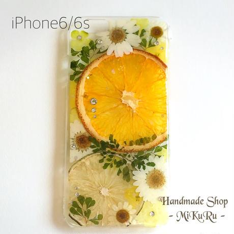 iPhone6/6s♡シトラスオレンジ