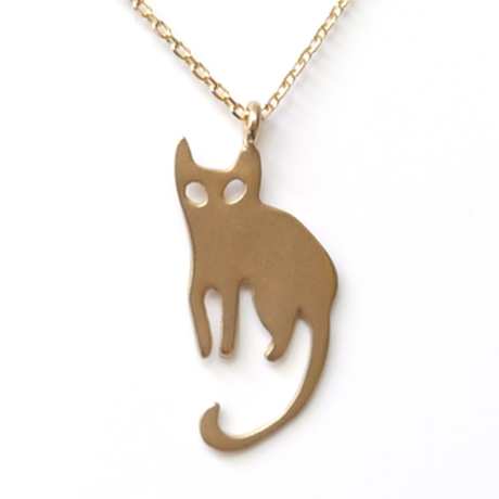 Molly The Cat Necklace