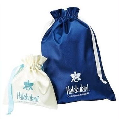 Halekulani  &Imperial ロゴ入り 巾着ポーチセット