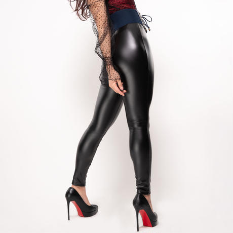 Leather Tight Skinny Pants