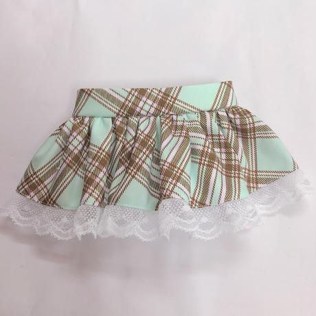 ♡ぐるみちゃん♡グリーン♡スカート