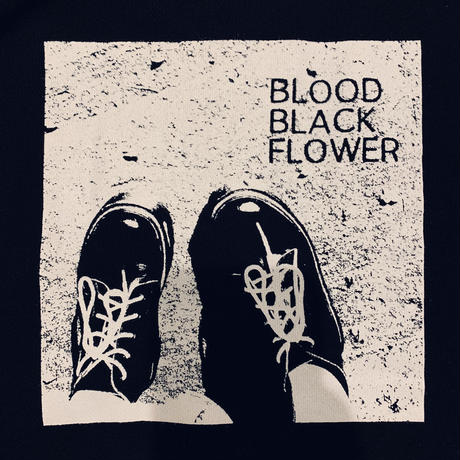 BLOOD BLACK FLOWER BIGパーカー