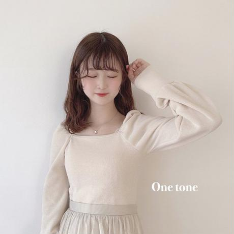 puffsleeve  square knit