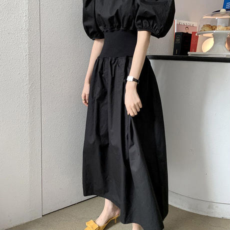 puffsleeve lady onepiece