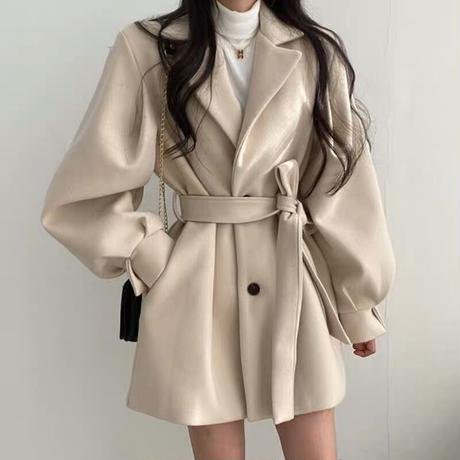 wool short coat
