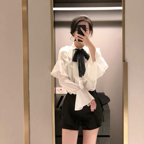 design ribbon blouse