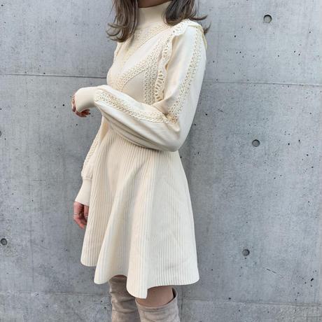 highwaist knit onepiece