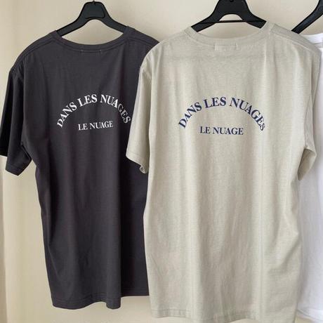 LE NUAGE logo tshirts