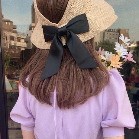 back ribbon sunvisor