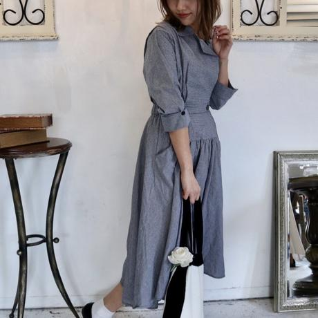 Unbalance elegant dress