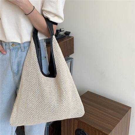 summer straw big bag