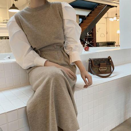 knit westmark  puffsleeve onepiece