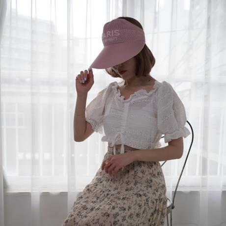 pink paris sunvisor