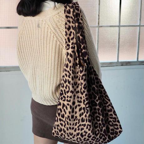Leopard BIG tote-bag