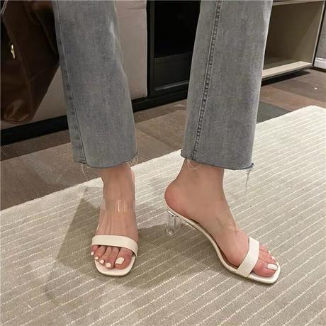 clear crock sandal