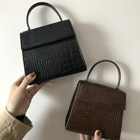 croc square bag