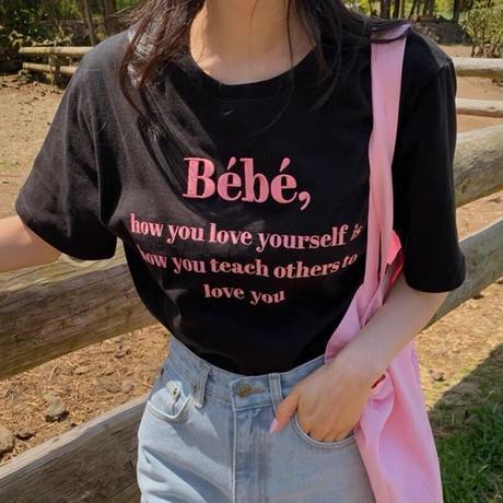 Bébé logo tshirts