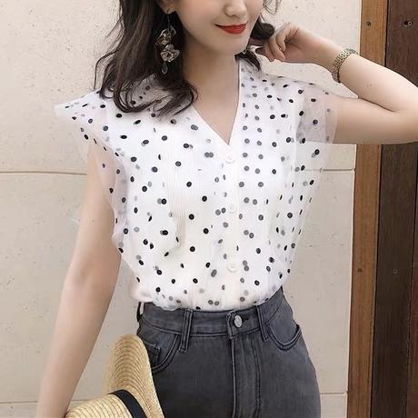 dot lace tops
