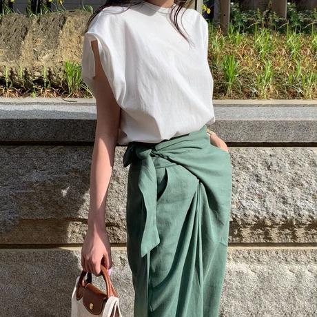 : set code : loose tops × relax skirt