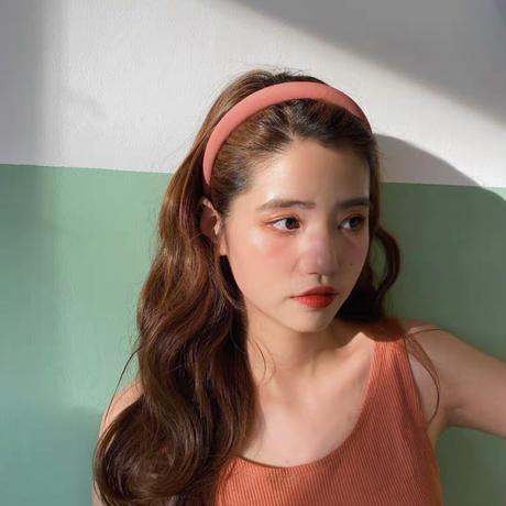 【即納】volume colour hairband