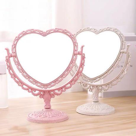 heart stand mirror