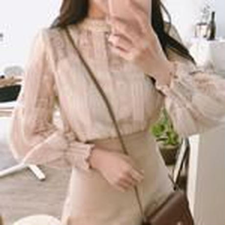 lace classical blouse