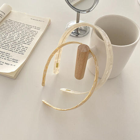 shell hairband