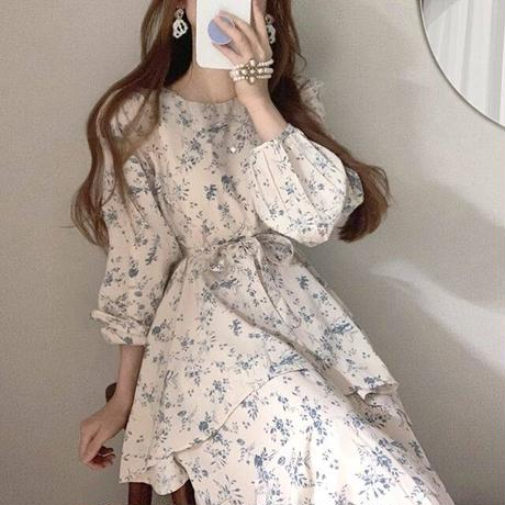 French flower flare onepiece