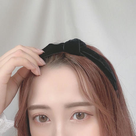 ribbon velours hairband