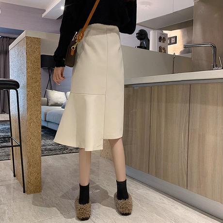 asymmetry mermaid skirt