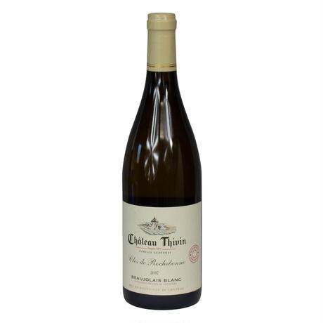 シャトー・ティヴァン クロ・ド・ロシュボンヌ AOPボジョレー・ブラン2018/Chateau Thivin Clos de Rochebonne AOP Beaujolais Blanc 2018