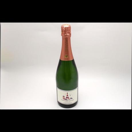 ローラン・シャルリエ ブリュット・プルミエ・クリュ AOP シャンパーニュ/Laurent Charlier Brut Premier Cru AOP Champagne NV