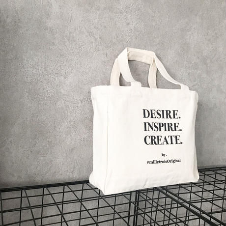 ORIGINAL LOGO tote bag . [ S ]