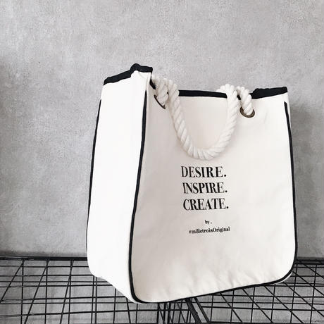 ORIGINAL LOGO tote bag . [ M ]