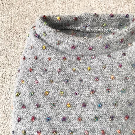 ORIGINAL mulchdot knit tank . [ gray  XS , S , M ]