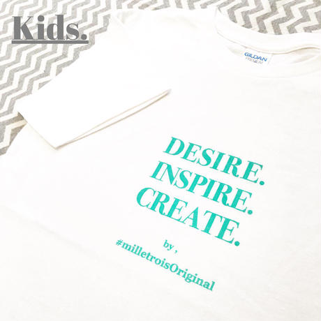 Kids☆ORIGINAL LOGO T- shirt . [ mint ]