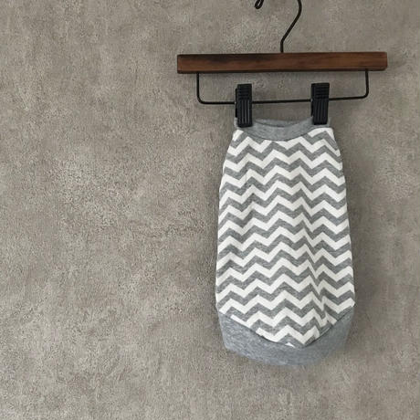ORIGINAL herringbone tank top . [  gray ]