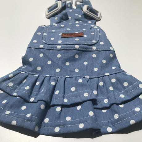 dot salopette skirt  .