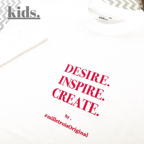 Kids☆ORIGINAL LOGO T- shirt .[ red ]
